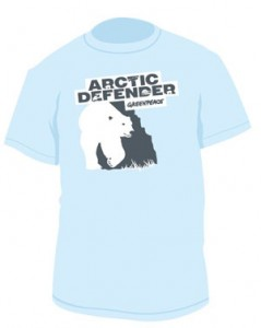 Arctic defender t shirt